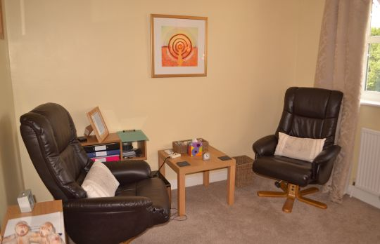 Consulting Room of York Senior Accredited and Registered Counsellor and Psychotherapist Dawn Lilburn