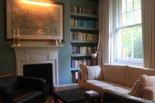 Consulting Room of London Registered Psychotherapist John Taggart