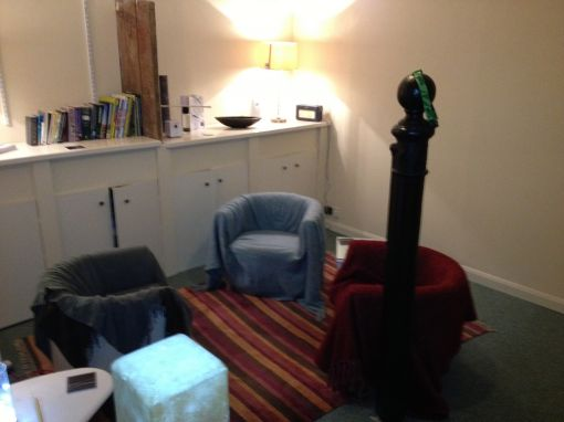 Consulting Room of Stamford Registered Counsellor Philip Boddey