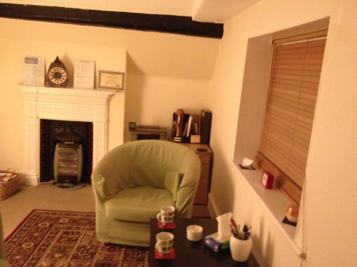 Consulting Room of Hitchin Registered Counsellor Philip Boddey