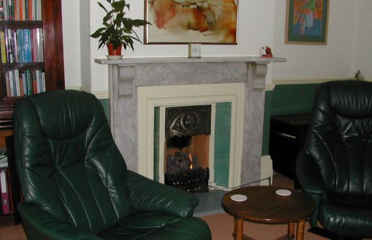 Consulting Room of Lincoln Accredited and Registered Counsellor and Psychotherapist Denise Pickup