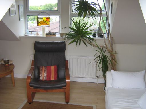 Consulting Room of Bristol Senior Accredited and Registered Counsellor and Psychotherapist Vanessa Gajewska