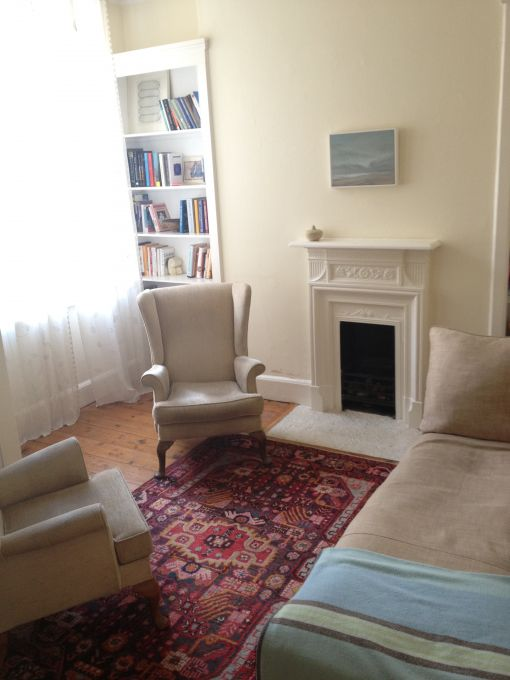 Consulting Room of London Registered Psychotherapist Chris Papakyriakopoulos