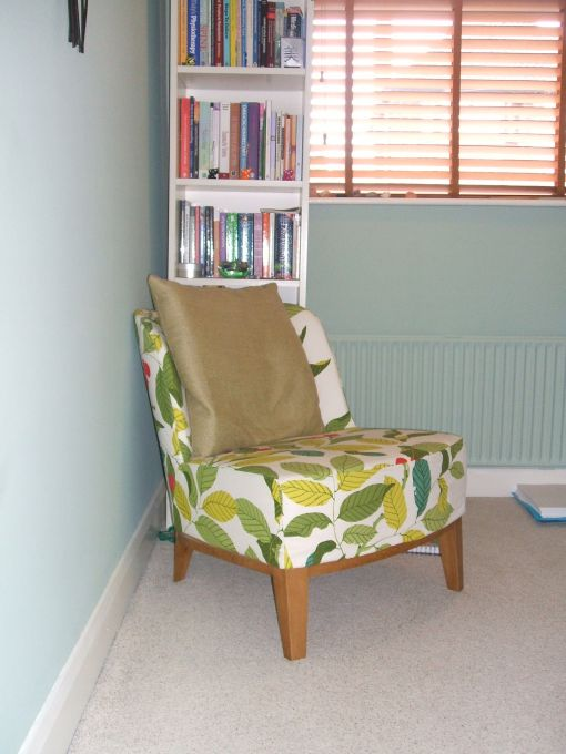 Consulting Room of Nottingham Accredited and Registered Counsellor and Psychotherapist Jean Maddock