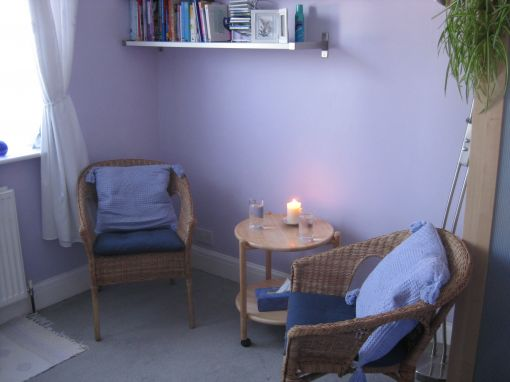 Consulting Room of Ruislip Accredited and Registered Counsellor and Psychotherapist Tonia Garrett