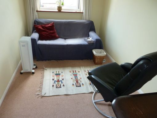 Consulting Room of Dorking Senior Accredited and Registered Counsellor and Psychotherapist Gary Cook