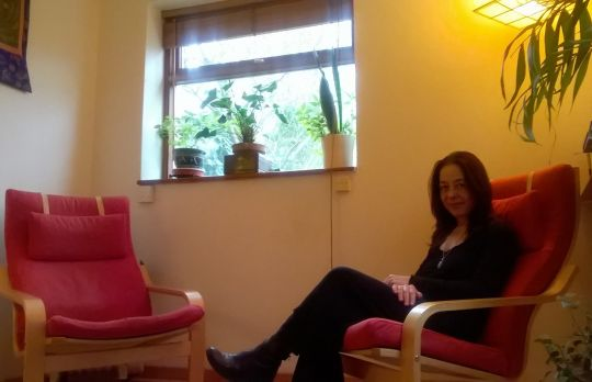 Consulting Room of London Registered Psychotherapist Teresa M Corso