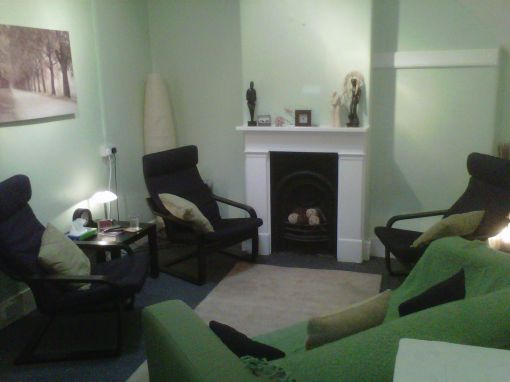 Consulting Room of London Accredited  Counsellor Christopher Clow