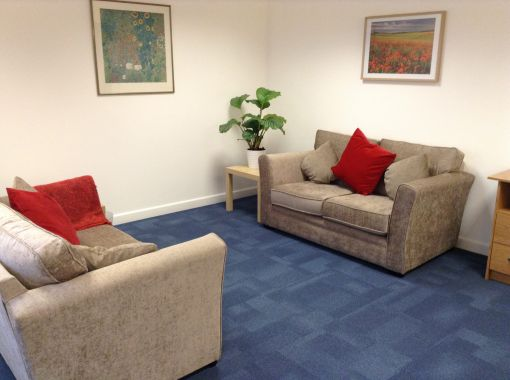 Consulting Room of London Registered Counselling Psychologist Julianna Challenor