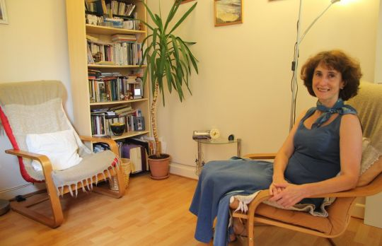 Consulting Room of Reading Accredited and Registered Counsellor and Psychotherapist Katrina Likhtman