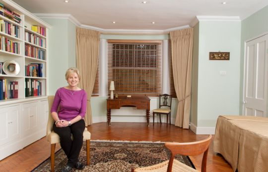 Consulting Room of London Chartered Psychologist Karen Ciclitira