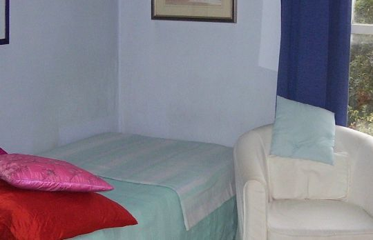 Consulting Room of London Registered Psychotherapist Sandra Black