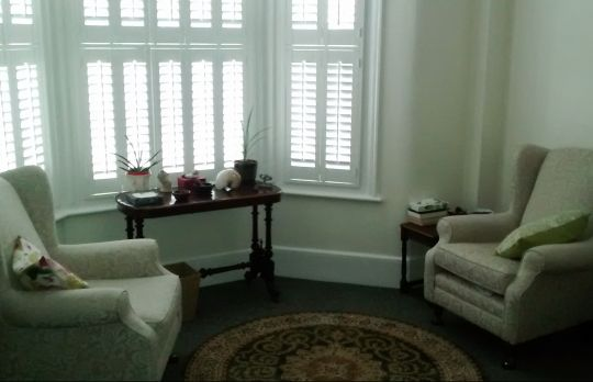 Consulting Room of London Registered Counsellor Martin