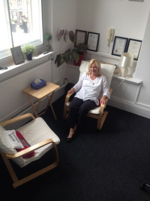 Consulting Room of Liverpool Registered Counsellor Joanne