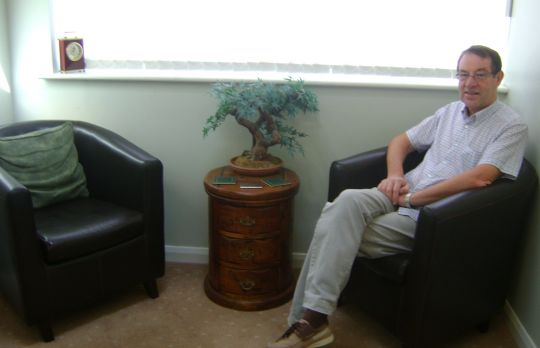Consulting Room of Lichfield Registered Counsellor John