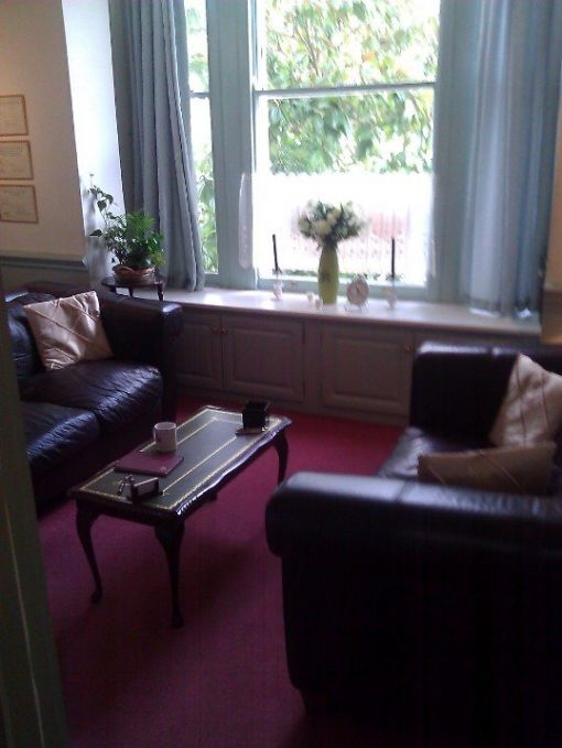 Consulting Room of Maldon Registered Counsellor and Psychotherapist Emma Wiffen