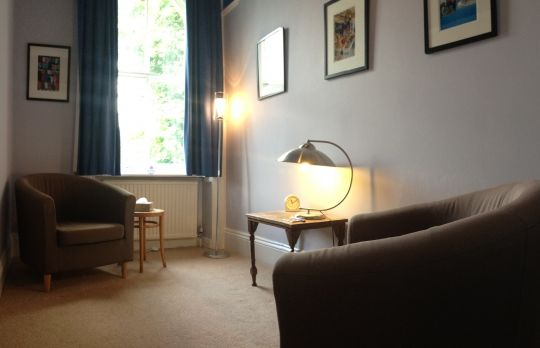 Consulting Room of Ilkley Accredited  Counsellor Paul Schofield