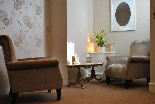 Consulting Room of London Registered Psychotherapist Joe Moran