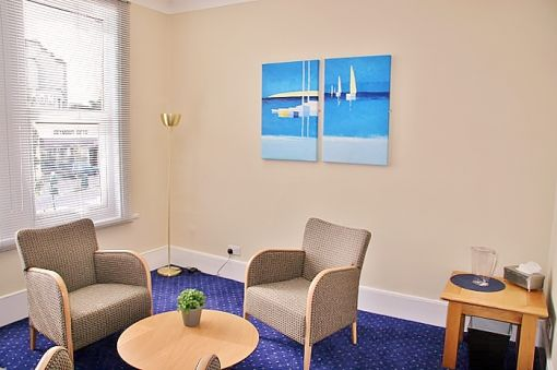 Consulting Room of London Registered Psychologist Sidrah
