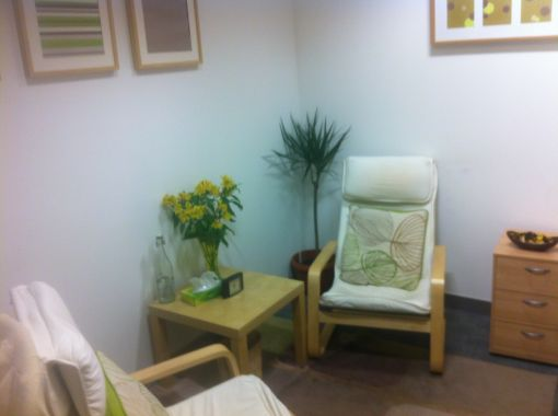 Consulting Room of Birmingham Registered Counsellor Clive Huntbach