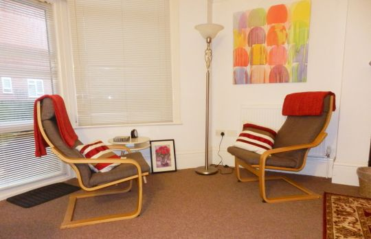 Consulting Room of Brighton Accredited  Counsellor Tanya Nielson