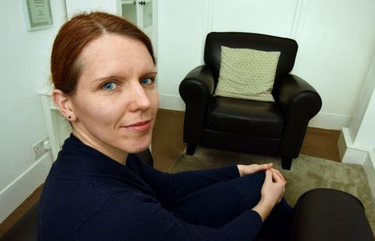 Consulting Room of London Registered Counsellor Corina Voelklein