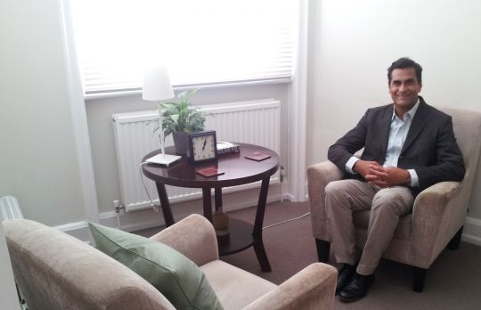 Consulting Room of London Registered Counsellor Saidat Khan