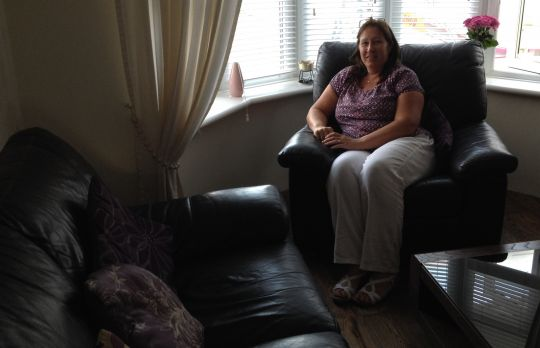 Consulting Room of Benfleet Registered Counsellor Julie Churchyard