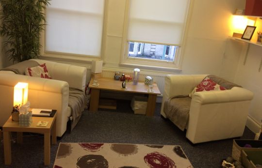 Consulting Room of Brighton Registered Counsellor Isabel Monteiro