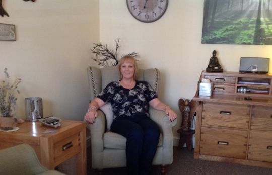 Consulting Room of Lincoln Accredited  Counsellor Sandra Howard