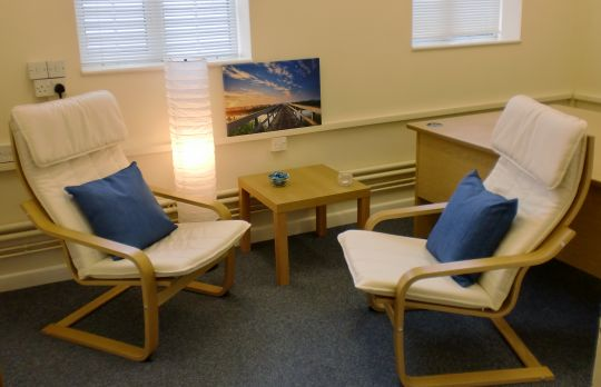 Consulting Room of Ipswich Registered Counsellor Donna Gibson