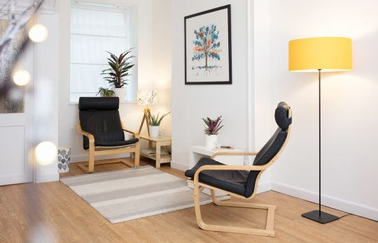 Consulting Room of Bristol Registered Counsellor Alex King