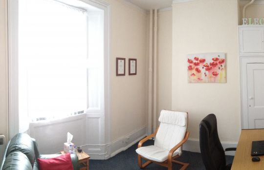 Consulting Room of Crawley Registered Counsellor Anthony Larkin
