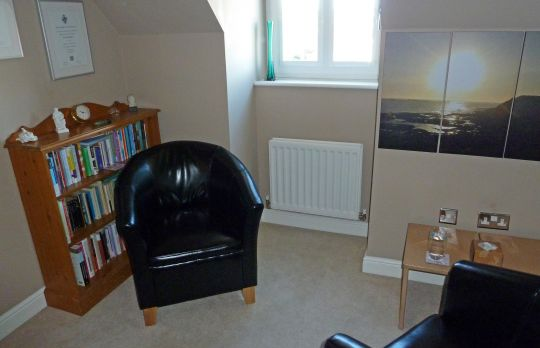 Consulting Room of Congleton Accredited  Counsellor David Seddon