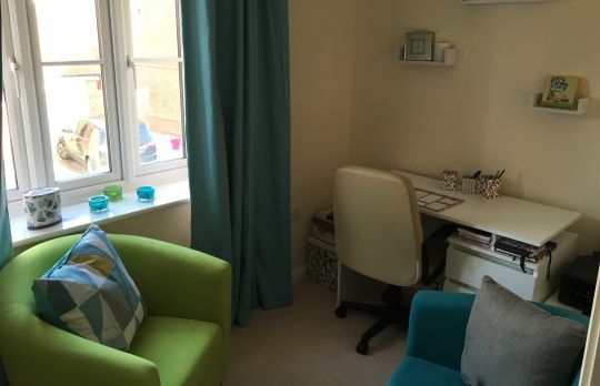 Consulting Room of Horley Chartered Psychologist Margarita