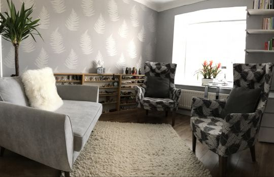 Consulting Room of Guildford Registered Counsellor Patsy Edmonds