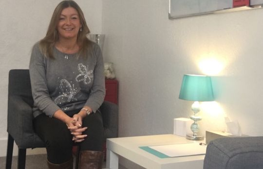 Consulting Room of Southend-on-Sea Registered Counsellor Samantha Lee