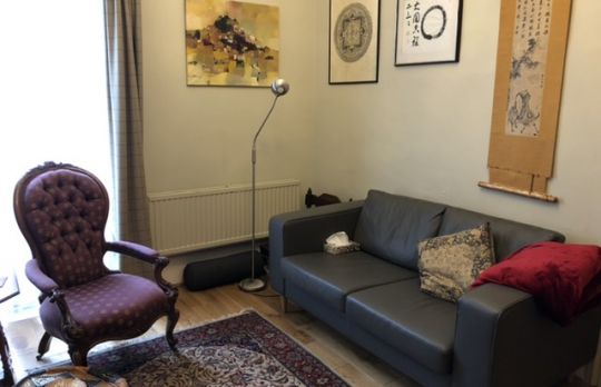 Consulting Room of London Accredited  Counsellor Denise Blake