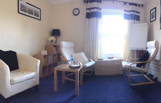 Consulting Room of Ormskirk Registered Counsellor Angela Gelder-Bulman