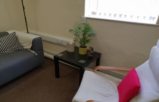 Consulting Room of Crawley Accredited  Counsellor Belinda Dimmock