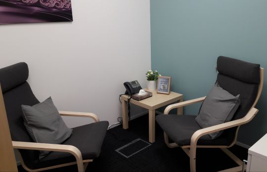 Consulting Room of West Malling Registered Counsellor Rachel