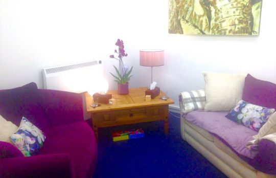 Consulting Room of Tring Registered Counsellor Simone Ayers