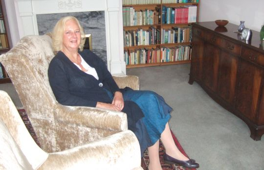 Consulting Room of Epsom Registered Counsellor Alison Wilson