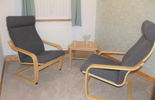 Consulting Room of Bristol Registered Counsellor Jessica Bennion