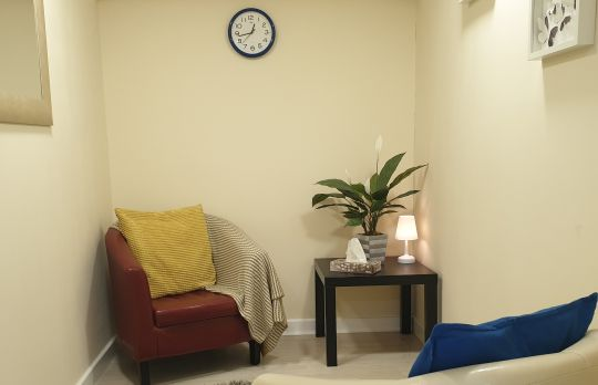 Consulting Room of London Accredited  Counsellor Emma Wallen