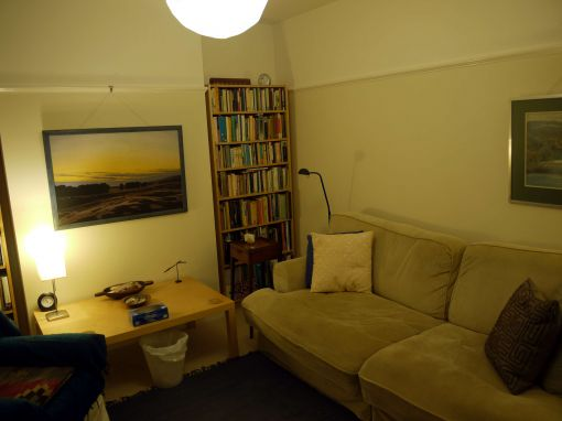 Consulting Room of Trowbridge Accredited  Counsellor Chris Pollock