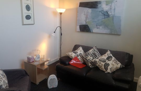 Consulting Room of Birmingham Registered Counsellor Nicola Benyahia