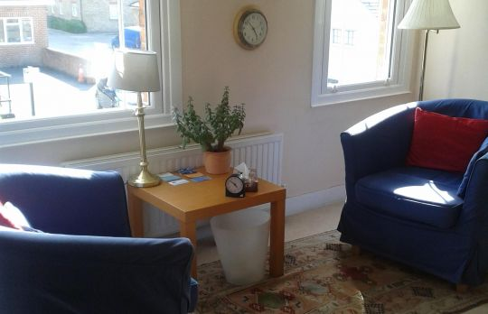 Consulting Room of Chelmsford Registered Counsellor Annette Dean