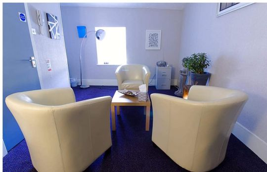 Consulting Room of Burnley Registered Counsellor Kenneth Barker-Graham