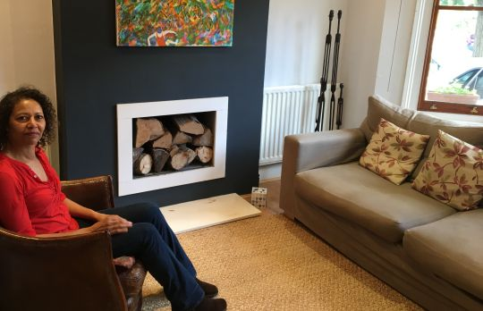 Consulting Room of Kingston upon Thames Registered Psychotherapist Urmila Grant